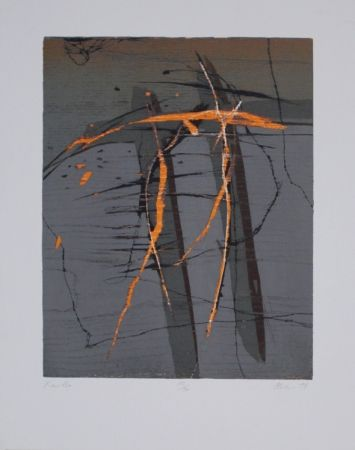 Woodcut Olschewski - Xantho