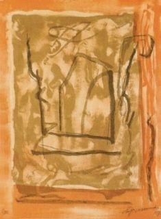 Lithograph Ràfols Casamada - Xipre-1