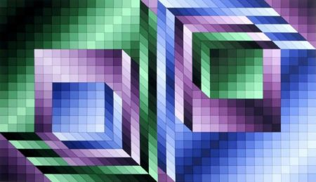 Multiple Vasarely - Xonau