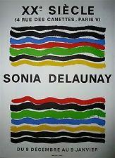 Poster Delaunay - Xx ème siècle