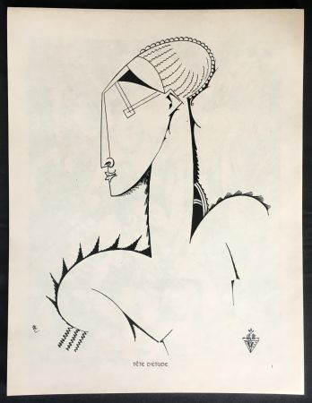 Illustrated Book De Souza-Cardoso - XX DESSINS. 1912