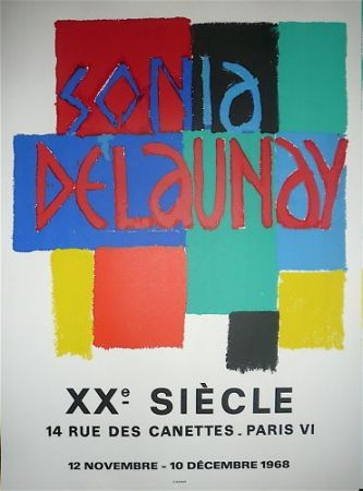 Poster Delaunay - Xx eme siecle
