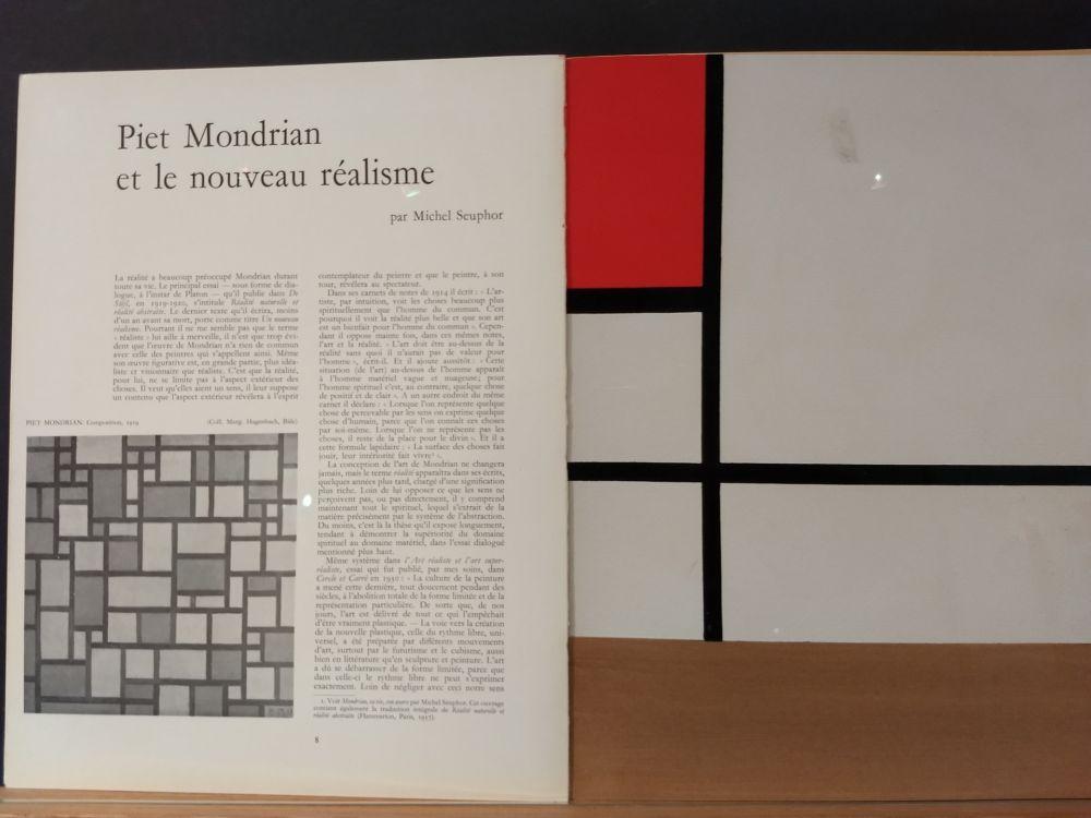 Illustrated Book Mondrian - Xxe No 9
