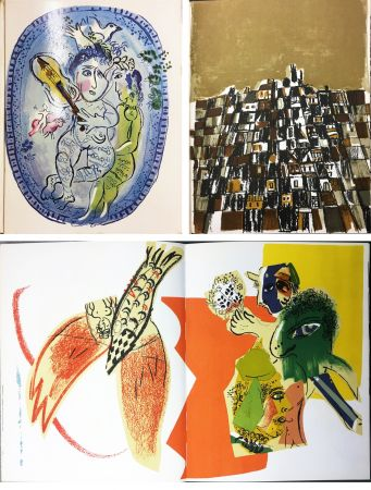 Illustrated Book Chagall - XXe SIECLE. Nouvelle série. XXVIIIe année. N° 26. Mai 1966 - QUATRE THÈMES…(Chagall, Viera Da Silva)