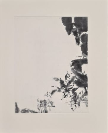 Etching And Aquatint Zao - XXIV Sonnets de Shakespeare