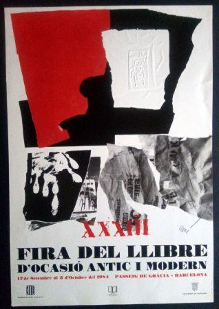 Poster Clavé - XXXIII Fira del llibre d'ocasió antic i Modern