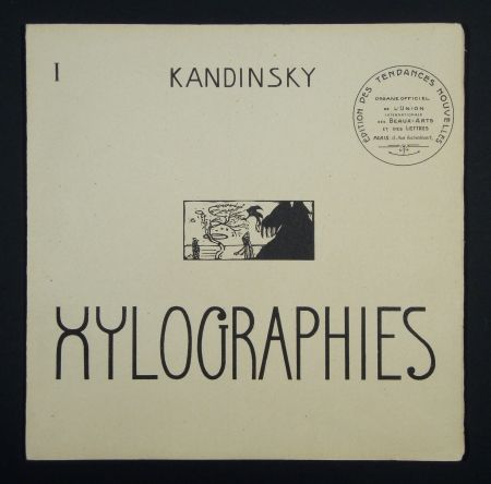 Illustrated Book Kandinsky - Xylographies