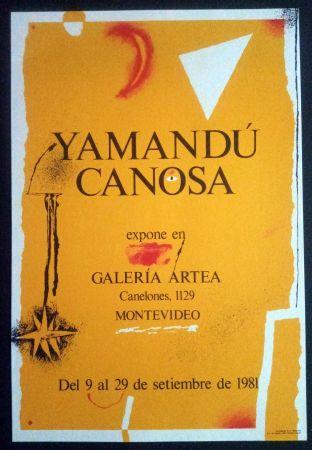 Poster Canosa - Yamandú Canosa - Galeria Artea - Montevideo - 19
