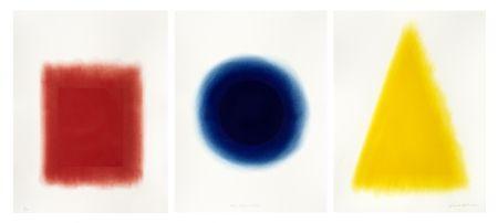 Pochoir Nash - Yellow, Blue, Red