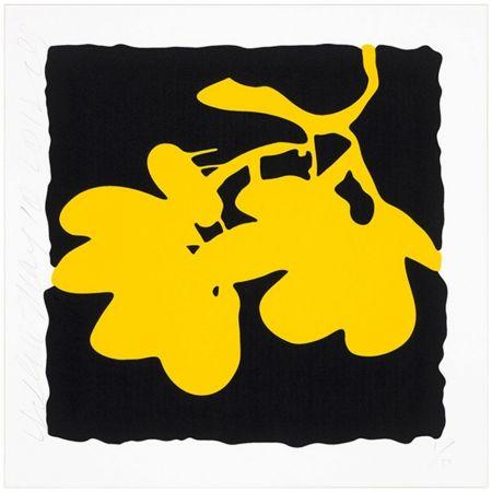 Screenprint Sultan - Yellow, May 10, 2012