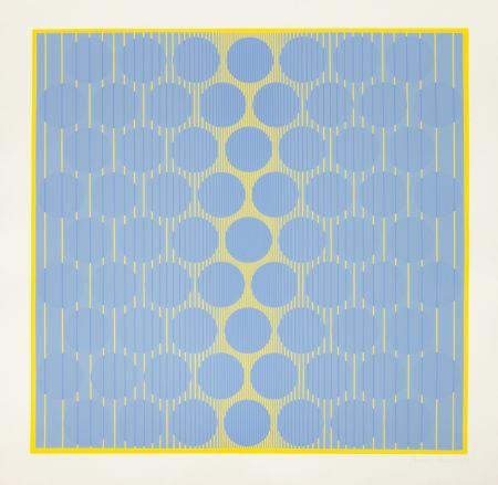 Screenprint Stanczak - Yellow One