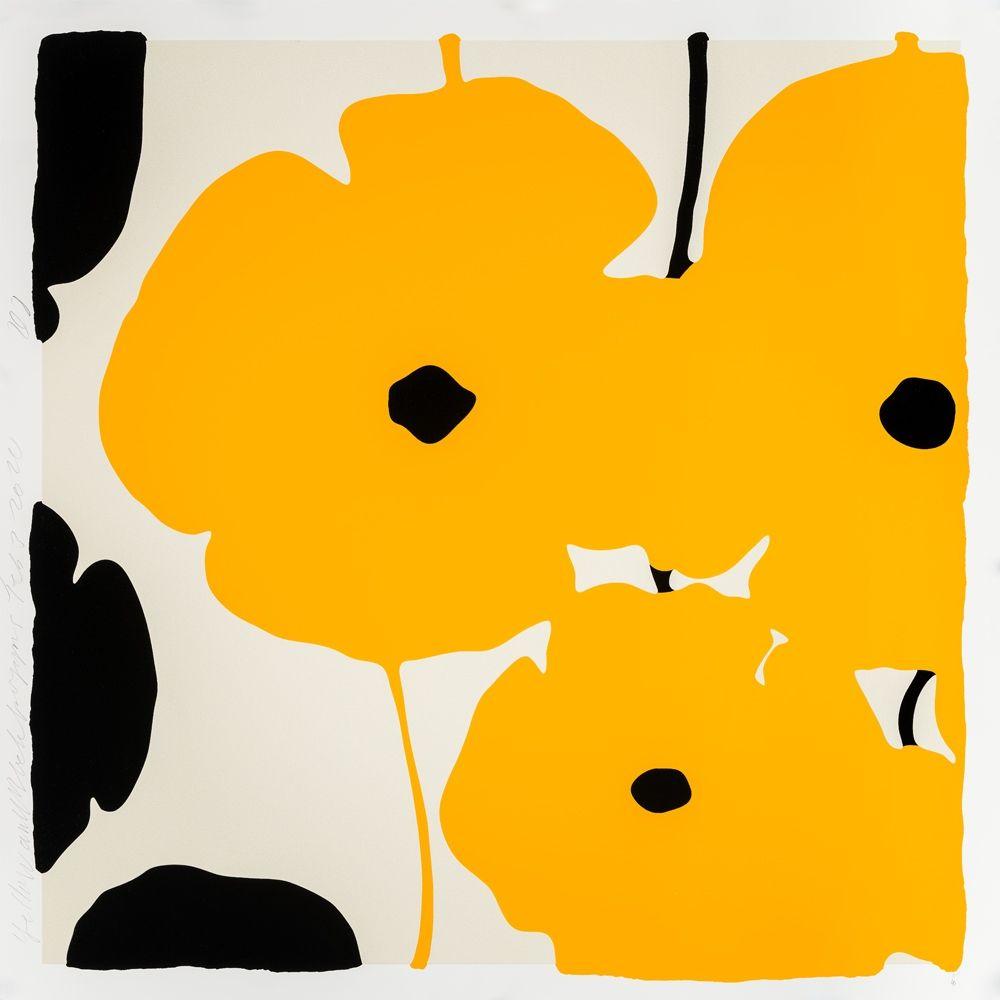 Screenprint Sultan - Yellow Poppies