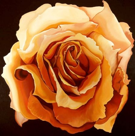 Screenprint Nesbitt - Yellow Rose