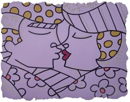 Screenprint Britto - YOU ARE SO WONDERFUL (PURPLE)