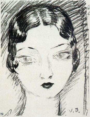 Lithograph Van Dongen - Young girl