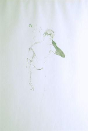 Lithograph Toulouse-Lautrec - Yvette Guilbert vue par Toulouse-Lautrec