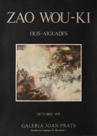 Poster Zao - Zao wou ki - Joan Prats 1978