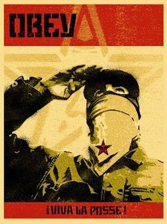 Screenprint Fairey - Zapatista Print