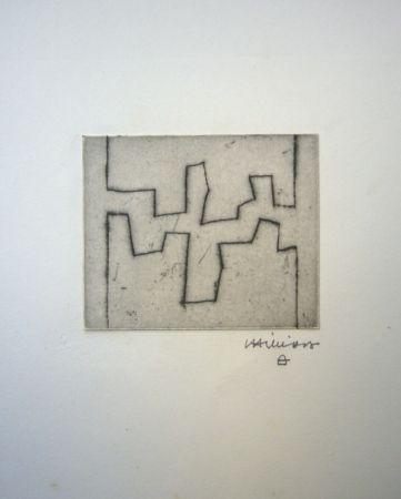 Engraving Chillida - Ze II