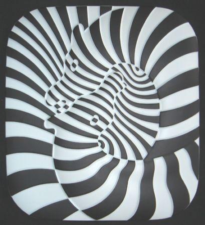 Ceramic Vasarely - Zebra Ceramique