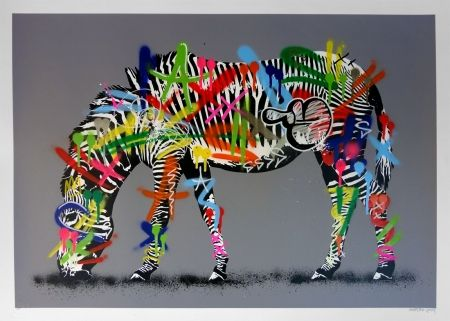 Multiple Whatson - Zebra (hand finished)