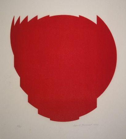 Woodcut Bosshard - Zerlegung eines Kreises in 9 Teile