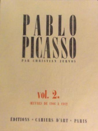 Illustrated Book Picasso - Zervos