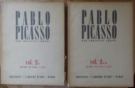 Illustrated Book Picasso - Zervos Vol 2 * & ** (1912-1917)