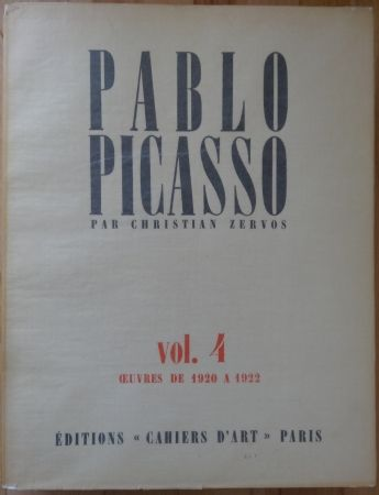 Illustrated Book Picasso - Zervos Vol 4 (1920-1922)