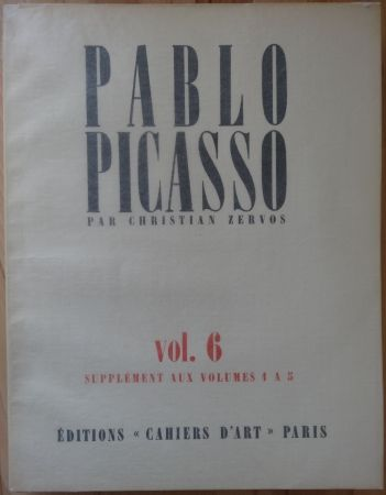 Lithograph Picasso - Zervos Vol 6 (Supplément n° 1 à 5)