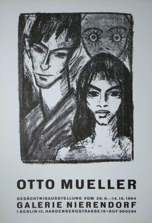 Poster Mueller - Zigeunerpaar