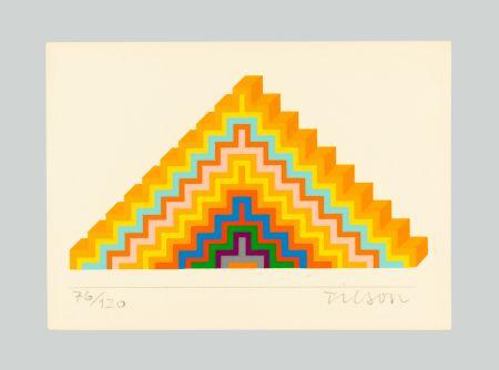 Screenprint Tilson - Ziggurath