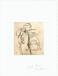 Etching Beuys - Zirkulationszeit: Die Mütter