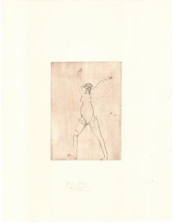 Etching Beuys - Zirkulationszeit: Mädchen