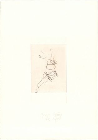 Etching Beuys - Zirkulationszeit: Topfspiel