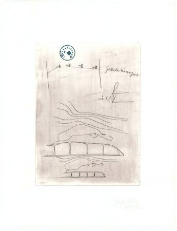 Etching Beuys - Zirkulationszeit: Zirkulationszeit