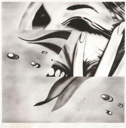 Lithograph Rosenquist - Zone