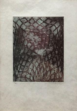 Aquatint Ernst - ZU: SAMUEL BECKETT