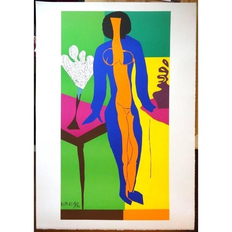 Lithograph Matisse - Zulma