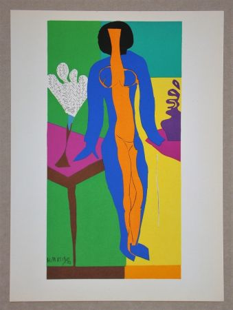 Lithograph Matisse (After) - Zulma - 1950