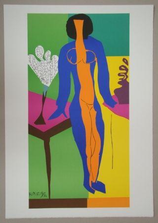 Lithograph Matisse - Zulma, 1950