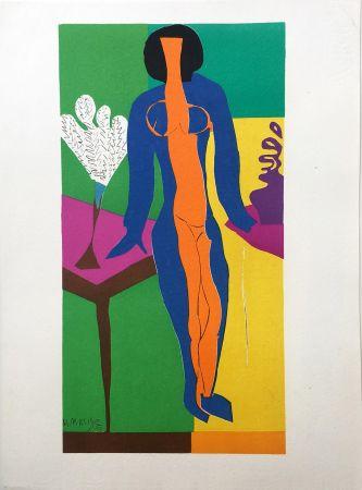 Lithograph Matisse - ZULMA (1950)